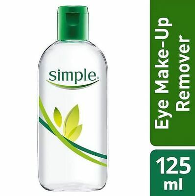 Simple Kind To Skin Dual Effect Eye Make-Up Remover 125ml New