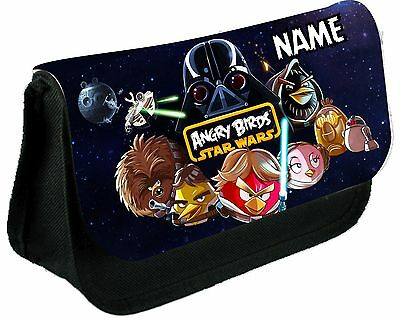 Angry Birds Star Wars Personalised Pencil Case / Make Up Case
