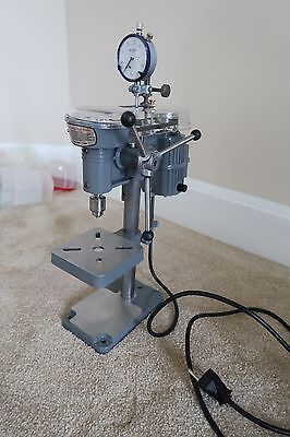 Cameron Micro Drill Press 214 Table top Model. 15 hours of use.