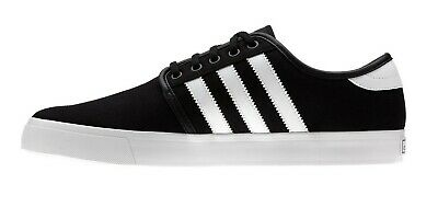Adidas SEELEY Black White Black Casual Skate Sneakers Discount (235) Men's Shoes