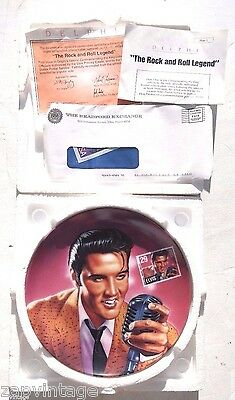 Elvis Presley The Rock and Roll Legend #1 Commemorating the King Collector Plate