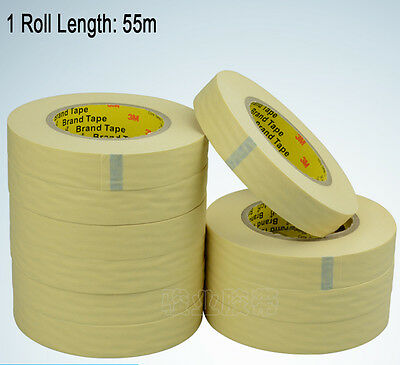 3M #2310 Yellow Masking Tape Adhesive for Automotive Painting Decoration - 55m