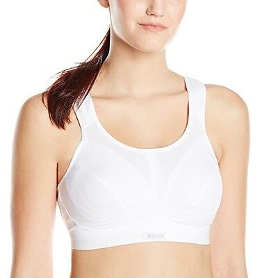 Shock Absorber Women's D+ Max Support Sports Bra, White, 36G