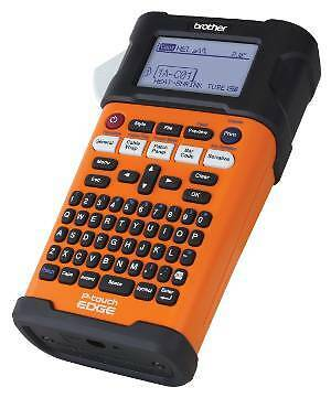 Brother PT-E300 Industrial Handheld Labeling Tool, Rechargeable Li-ion Battery