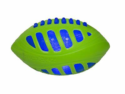 COOP Reactorz 9in Light-up Football - Blue Core & Green Shield