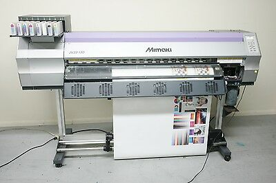 "Mimaki JV33-130 ""USED"" - 54"" Wide Format Solvent Printer."