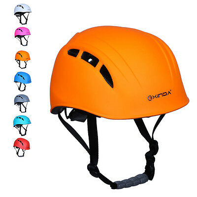 Adult's Professional Climbing Caving Rock Climb Helmet Safety Protective Gear