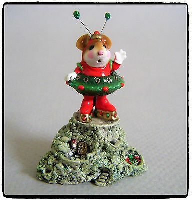 Wee Forest Folk Greetings! (red/green) - EV-2003 - Retired