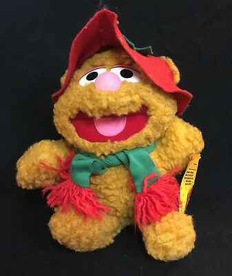 Baby Fozzie Bear Plush  Mc Donalds vintage 1988