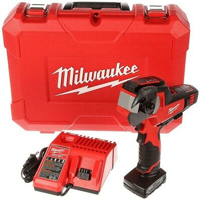 Milwaukee 12-Volt Lithium-Ion Cordless Cable Cutter Wire Cutter Kit Power Tool