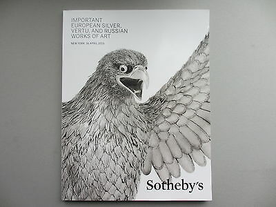 Important Silver, Vertu & Russian Works of Art. Sotheby's, NY. 16 April 2015