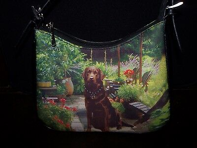 CHOCOLATE LABRADOR RETRIEVER  Purse-Hand Bag