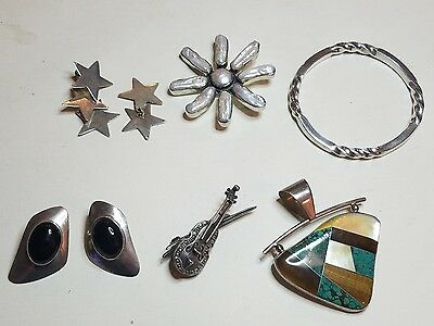 Sterling Silver 925 Jewelry Lot 98.1 Grams