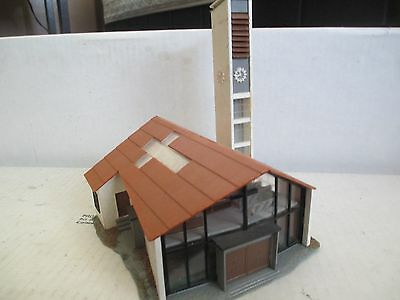 HO SCALE MODERN Church building with interior Faller made in Germany