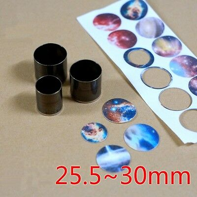 Round Hollow Punch Set  Tools Hole Punching Leather CARBON Steel 25.5-30mm