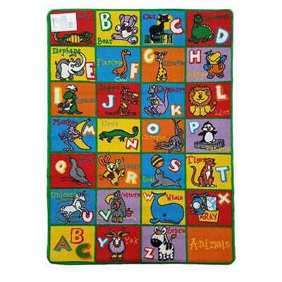 New Play mat kids floor educational ABC ANIMALS Children's game Rug 94cm x 133cm
