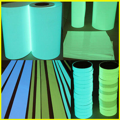 Luminous Tape Antislip Self-adhesive Glow In The Dark Warning Tape Sticker Decor