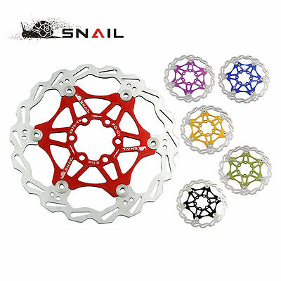 Mountain Bike DH 6 inch 160mm Floating Disc Cycling Bicycle MTB Brake Rotors