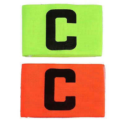 Popular Football Soccer Training Captain's Armband Bright Color Senior C Kit