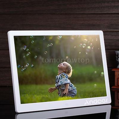 """15.6"""" HD LED HD Digital Photo Picture Frame MP4 Movie Player With Remote Control"""