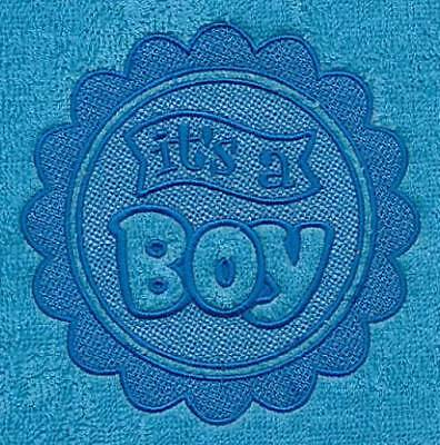 "Gorgeous ""Its a boy"" new born towel - what a great gift"