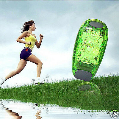 Multifunction 3 Modes Clip Running Sports LED Night Safety Light Lamp Tail Light