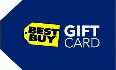 Best Buy Gift Card - $100 Online or In Store - Shipped within 1 business day