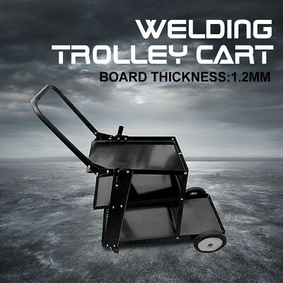 Welding Cart Trolley Welder Storage Bench Mig Tig Arc MMA Plasma Cutter