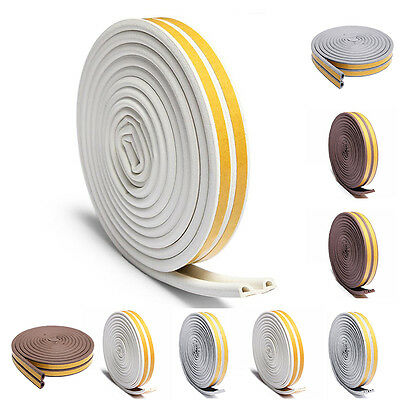 3 Types Sealing Strip Home Door Window Self Adhesive Noise Insulation Excluder