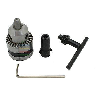 1pc 0.6-6mm Mount B10 Drill Chucks w/5mm Motor Shaft for Electric Power Tools