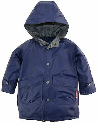 Wippette Toddler Boys Solid Hooded Fisherman Raincoat Jacket