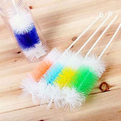 Brush Cleaner For Bottle Pipe Tube Cleaning 30cm Nylon Wire Cleaning Brushes