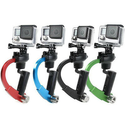 Pro Mini Hand-held Camera Stabilizer Video Gimbal for GoPro Hero 3/4 Cam 4Colors