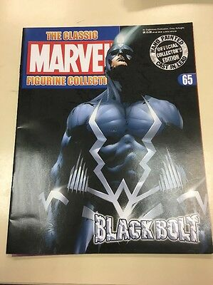 The Classic Marvel Figurine Collection 65 Black Boat