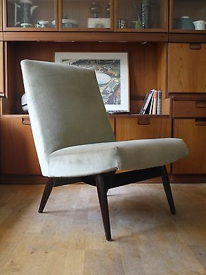 Vintage Parker Knoll cocktail chair. 50s 60s retro
