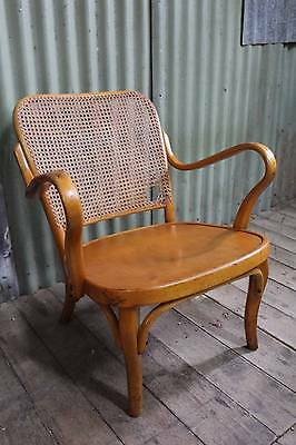 A Thonet A752 Bentwood Arm Chair C.1935 Carver