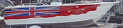 Aussie Red Ensign Flag / / Boat/decal Half Wrap 2500Mm X 420 Mm Left & Right