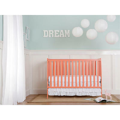Dream On Me Synergy5 in 1 Convertible Crib - Pink