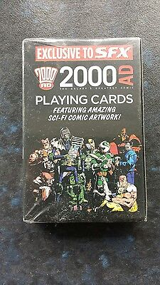 2000 AD Playing Cards