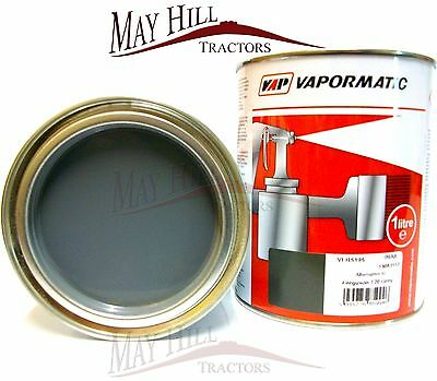 Ferguson TE20 Tractor Grey Paint 1 Litre Tin - Vapormatic