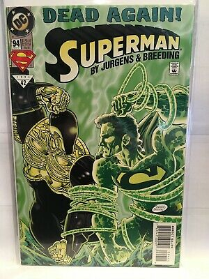 Superman (Vol 2) #94 VF NM- 1st Print DC Comics