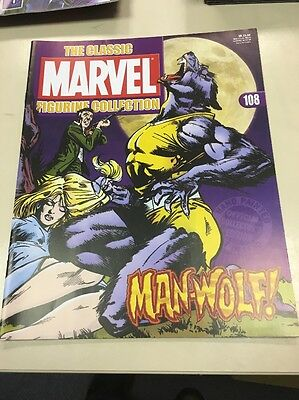 The Classic Marvel Figurine Collection 108 Man Wharf