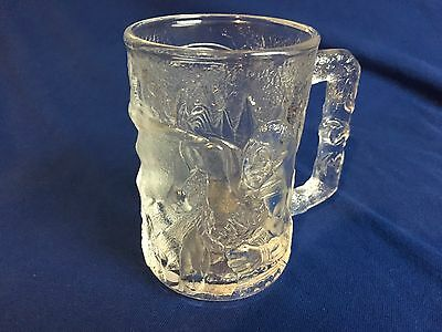 1995 Mcdonalds Batman Forever Robin Glass Mug