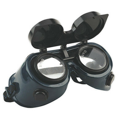 Sealey SSP6 Welders Goggles Welding Goggles - Flip Up Lenses Glasses SHADE 5