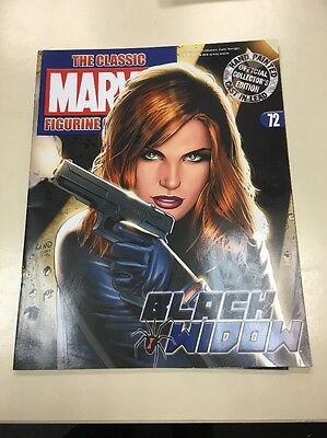 The Classic Marvel Figurine Collection 72 Black Widow