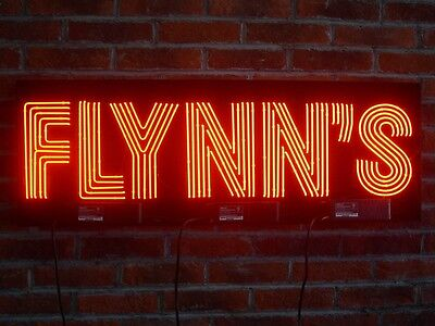 "New Flynn's Arcade Game Room Neon Sign 40""x16"" Ship From USA"