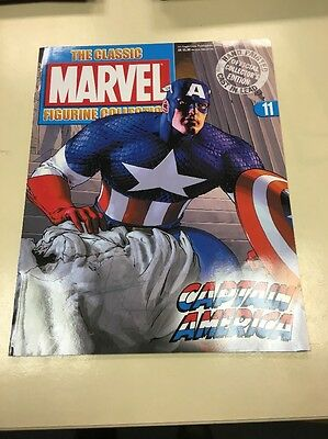 The Classic Marvel Figurine Collection 11 Captain America