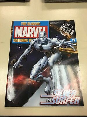 The Classic Marvel Figurine Collection 12 Silver Surfer
