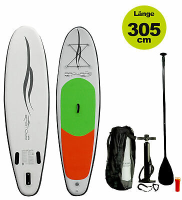 Inflatable SUP Stand Up Paddle Board 305cm SUP iSUP Surfbrett PIKE1 Prowake NEU
