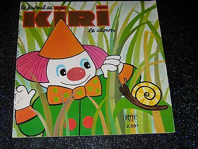 Le Journal De Kiri Le Clown - N°  26 - Juin 1973 - Ortf